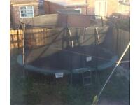 Large Jumpking Trampoline - open for viewing and negotiation on price!