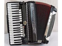 Paolo Soprani - 120 Bass - 4 Voice Double Octave Accordion with MIDI