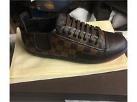 Brown LV Trainers Louis Vuitton Brown Men's Shoes