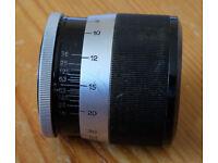 Leitz Leica Pre-war short focusing mount for 135mm lens heads