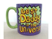 🚀 🌎 Best Daddy in the Universe Mug Great Gift 🎁