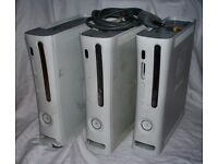 3 faulty xbox 360 consoles HDMI models