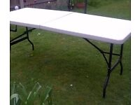FOLDING TABLE CAMPING OR CARAVAN HEAVY DUTY LIGHT WEIGHT