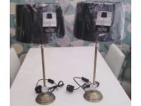 PAIR OF TABLE LAMPS *** NEW ***