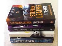 NEW Paperback Crime Novel, 4 for £10