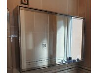 Bathroom Cabinet (Mirrored)