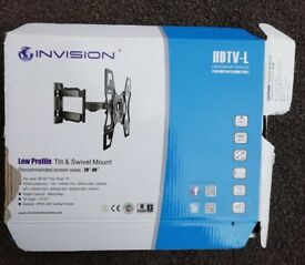Invision Ultra Slim Low Profile Cantilever TV Wall Bracket screens 26-60 Inch TVs
