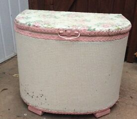 Ottoman Blanket Box Shabby Chic Up Cycle Upcycle Project