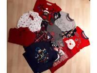 Boys age 2-3 Christmas bundle of clothes
