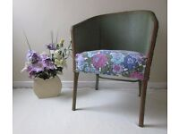 Vintage Lloyds loom style chair arm reception chair studio boutique style chair DELIVERY AVAILABLE