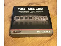 M-Audio Fast Track Ultra (External Soundcard PC ONLY) *Mint Condition
