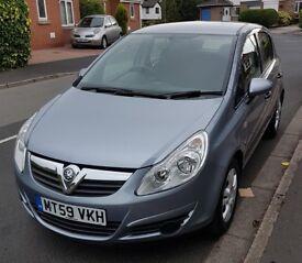 2010 Vauxhall Corsa 1.2 Active 5 Door Car - Low mileage