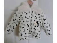 NEW Hello Kitty girls winter coat age 4-5