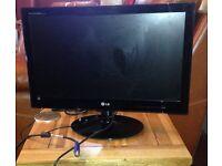 """LG E2240S 22"""" LED Monitor 16:9 HD 5ms Black"""