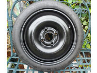 v.w. spare wheel and tyre,new