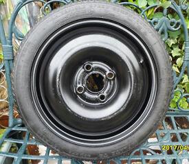 new spare wheel vw