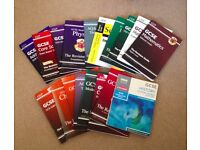 Set Of 18 GCSE Revision Books