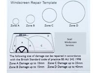 Windscreen chip and crack repairs in Leeds