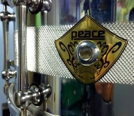 PEACE SOLID STEEL SNARE DRUM - 8kg of serious snare drum