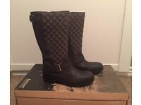 Brand New - Women's Barbour Boots (Brown) - Size 5