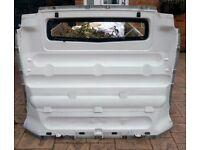 Renault Traffic/Vauxhall Vivaro bulkhead - White (2001-2014 reg)