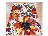 2 Modern Colourful rug for sale