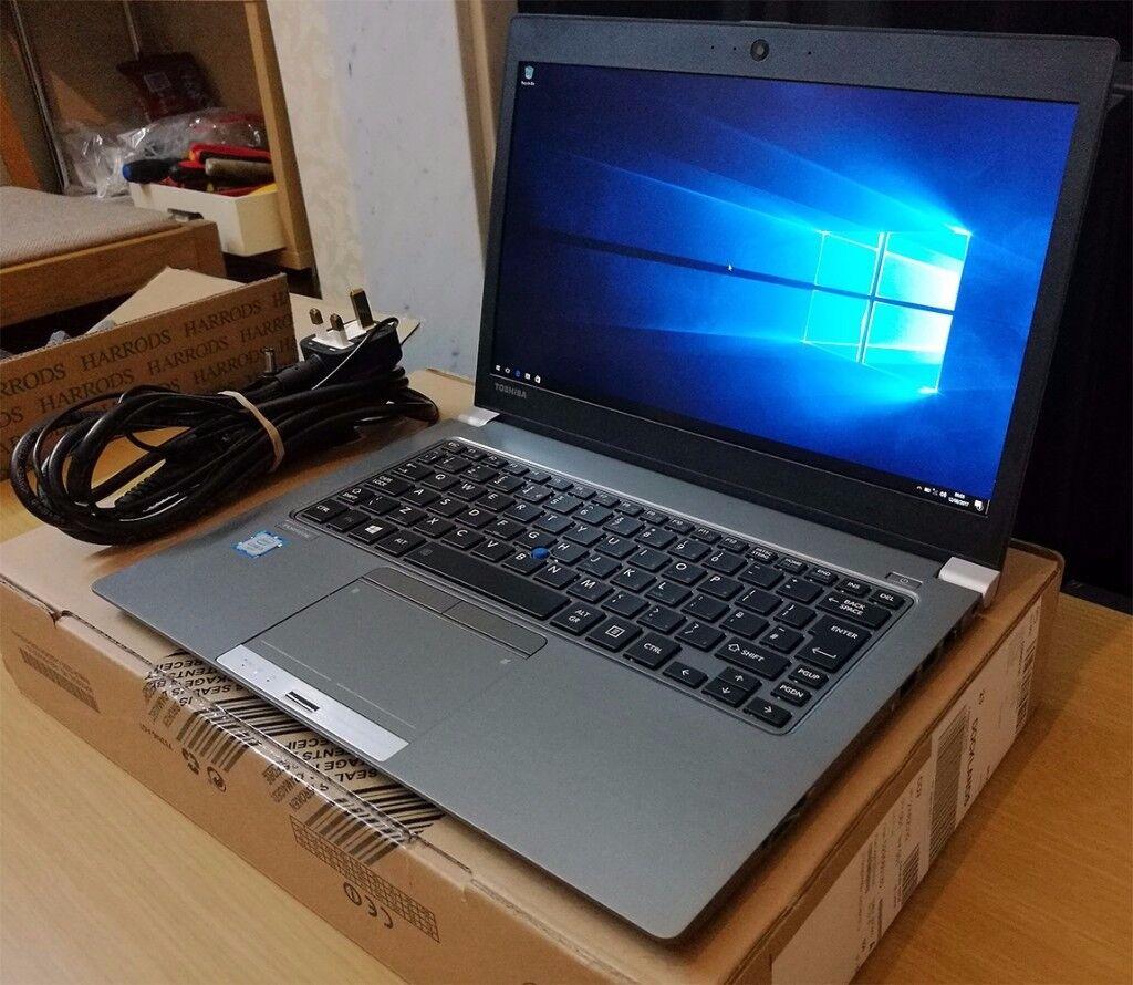 """Toshiba Portege Z30-C-16K - 13.3"""" Inch FHD / Core i5-6200U / 8GB RAM / 256GB SSD (RRP £1400)"""