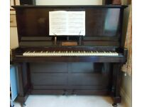 Upright piano by John Brinsmead and Sons of London: circa 1913