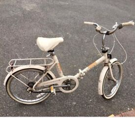 Raleigh Compact folding bike vintage classic retro original condition