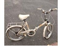 Raleigh Compact folding bike vintage classic retro original condition