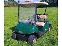 EXGO RXV Electric Golf Buggy Cart 48v Car / Utility Vehicle uses 13A mains plug