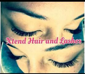 Semi permanent eyelash extensions from £40