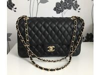 CHANEL CLASSIC HANDBAG (REP) LOOKS GOOD