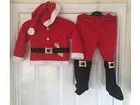 Santa's three piece outfit - 6-7 years