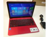 Asus Netbook *11.6 HD screen, 9+ hrs battery, Quad Core Atom CPU, 32Gb SSD, Bluetooth, HDMI, Webcam