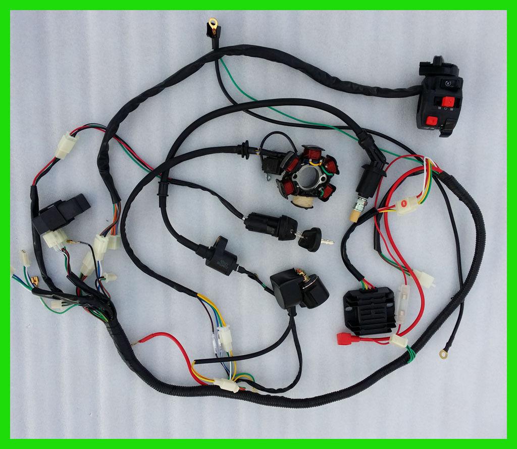 Full Electrics Wiring Harness Cdi Coil Solenoid 150cc Atv Quad Bike Crossfire 150r Go Kart 3 Of 5 Buggy Gokart