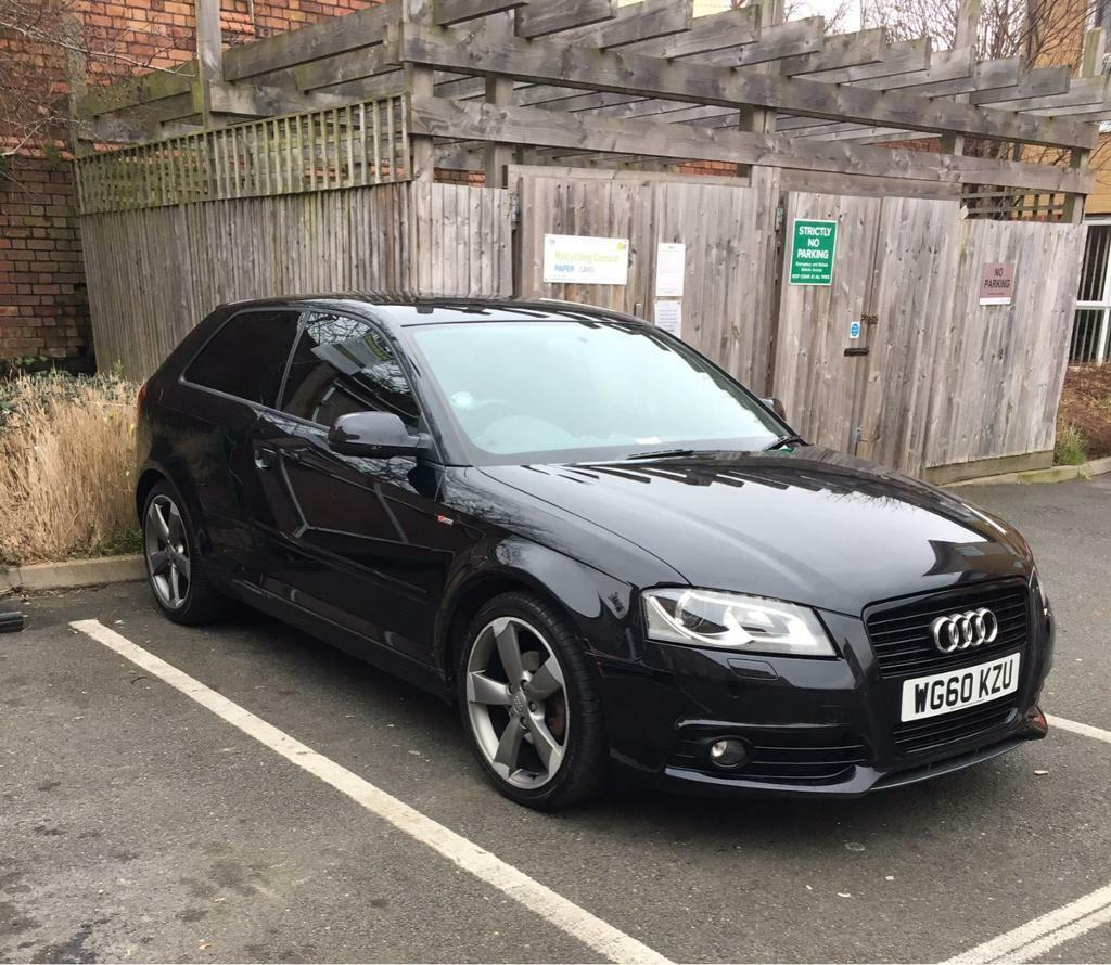 audi a3 s line black edition 2 0 tdi in bedminster. Black Bedroom Furniture Sets. Home Design Ideas