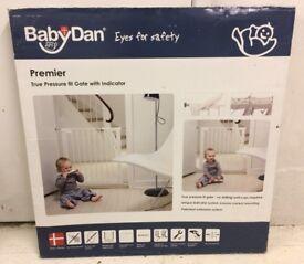 Babydan pressure fit safety gate.