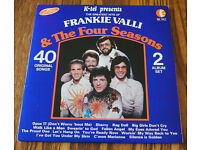 Frankie Valli and The Four Seasons Double Vinyl LP