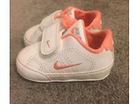 Baby Girl Nike trainers 0.5
