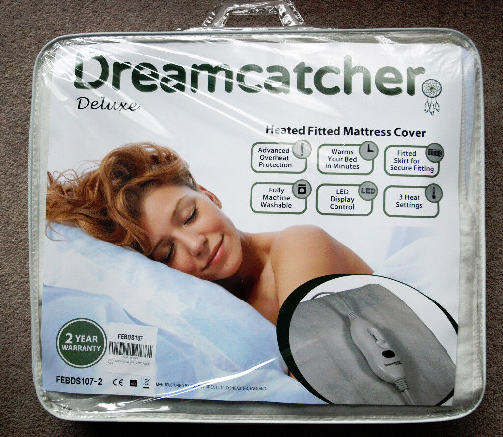 Heated Fitted Mattress Cover - Dreamcatcher Deluxe, Single