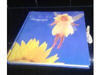 Photograph album in Anne Geddes style baby/ Children keepsake christening present