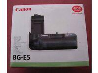 CANON BG-E5 BATTERY GRIP BRAND NEW FOR CANON 450D 500D 1000D