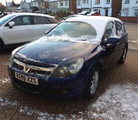 2006 56 ultra blue 5dr Vauxhall Astra elite 16v 1.6 petrol