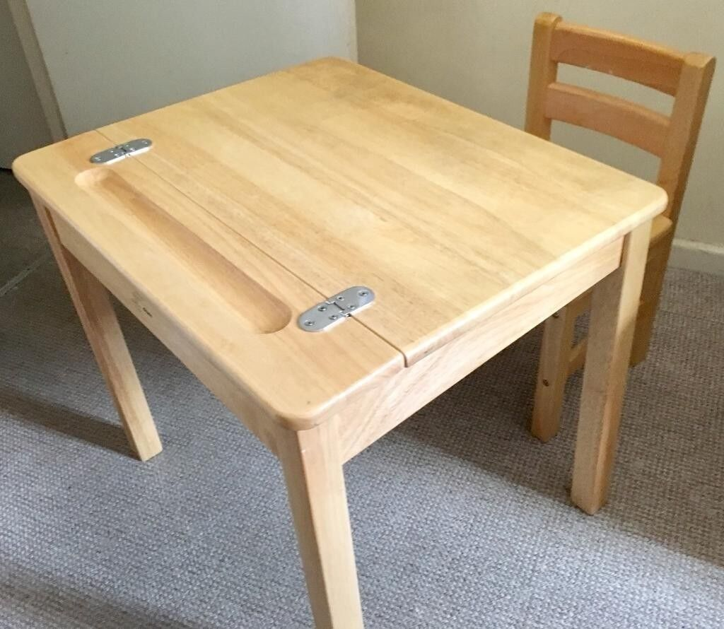 Wooden Kids Desk And Chair John Crane In Slough