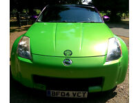 2004 NISSAN 350Z GT LONG MOT IN DAILY USE CUSTOM PEARL PAINT