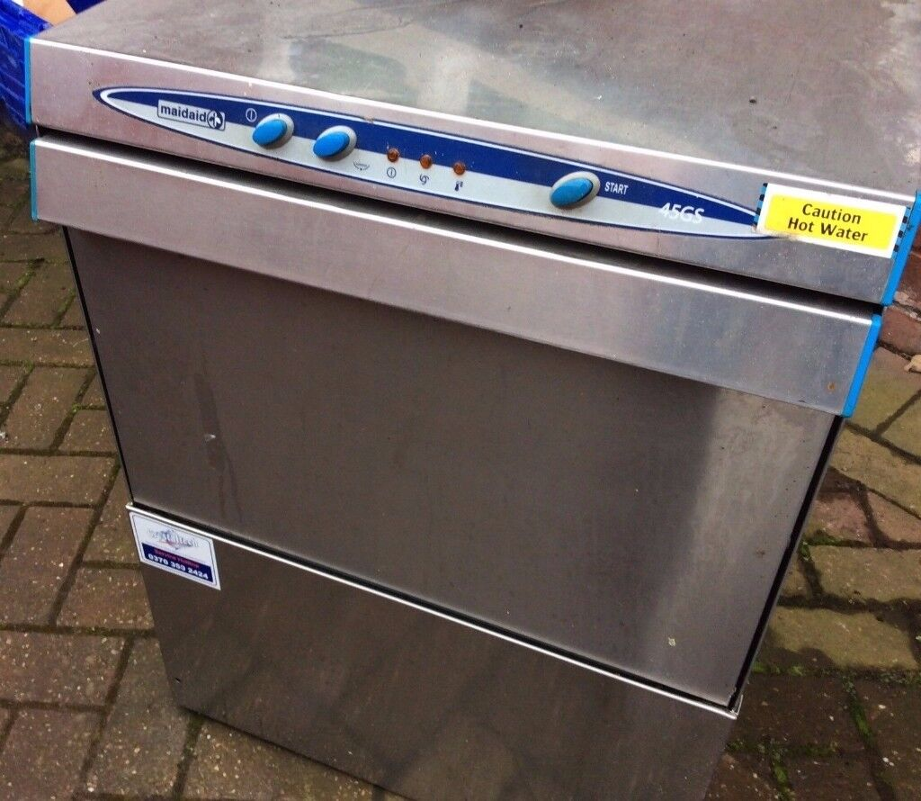 maidaid glasswasher / glass washer 18 tall pints with drain pump will post