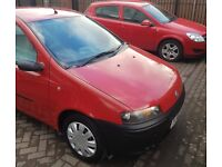 Fiat Punto 1.2 in very good condition...reverse sensers...mp3...serviced...valeted...Drives spot on.