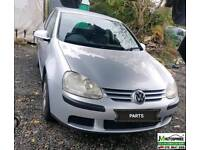 Vw Golf Mk5 2004-2010 PARTS AVAILABLE ONLY