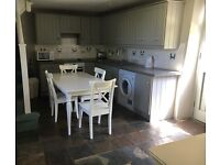 Kitchen units, sink and top to dismantle painted grey good condition £100